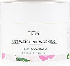 Düfte, Parfümerie und Kosmetik Körperbalsam - Tizmi Total Body Balm Peonia & Wanilia