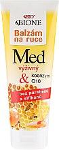 Düfte, Parfümerie und Kosmetik Pflegende Handcreme mit Honig und Coenzym Q10 - Bione Cosmetics Honey + Q10 Cream