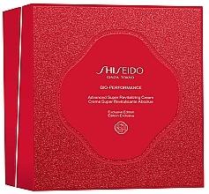 Düfte, Parfümerie und Kosmetik Gesichtspflegeset - Shiseido Bio-Performance Advanced Super Revitalizing Cream Holiday Kit (Revitalisierende Creme 50ml + Gesichtsreinigungsschaum 15ml + Gesichtslotion 30ml + Gesichtskonzentrat 10ml)