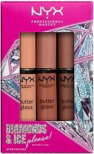 Düfte, Parfümerie und Kosmetik Lippenpflegeset (Lipgloss 3x8ml) - Diamond & Ice Please! Butter Gloss Trio Gift Box 2