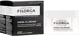 Düfte, Parfümerie und Kosmetik Feuchtigkeitsspendende und mattierende Gel-Creme für Gesicht - Filorga Hydra-Filler Mat