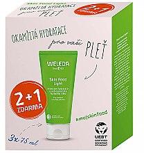 Düfte, Parfümerie und Kosmetik Gesichts- und Körperpflegeset - Weleda Skin Food Light Multipack (Feuchtigkeitscreme 3x75ml)