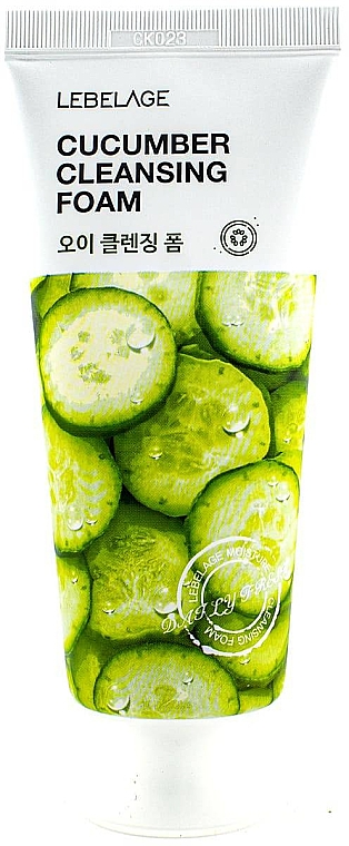 Gesichtsreinigungsschaum mit Gurkenextrakt - Lebelage Cucumber Cleansing Foam