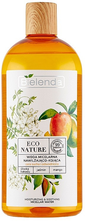 Mizellenwasser mit Mango und Jasmin - Bielenda Eco Nature Moisturizing & Soothing Micellar Water