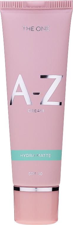 Multifunktionale mattierende Gesichtscreme SPF 30 - Oriflame The One A-Z Cream Hydra Matte SPF30