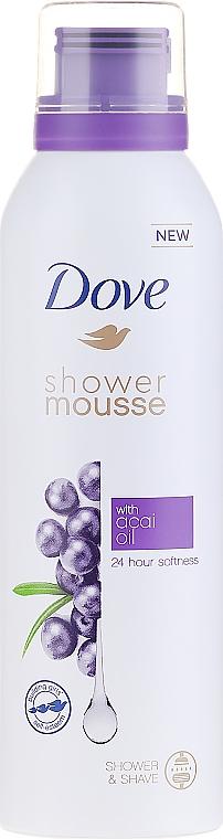 Duschschaum mit Acaiöl - Dove Acai Oil Shower Mousse