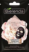 Düfte, Parfümerie und Kosmetik Luxuriöse verjüngende Tuchmaske mit Kamelienöl und Hyaloronsäure - Bielenda Camellia Oil Luxurious Rejuvenating Sheet Mask