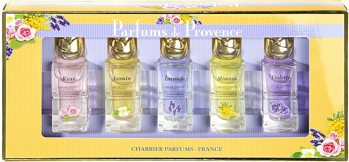 Charrier Parfums Parfums De Provence - Duftset (Eau de Toilette 10.8ml x5)