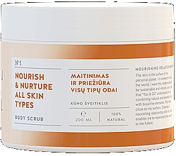 Düfte, Parfümerie und Kosmetik Pflegendes Körperpeeling für alle Hauttypen - You & Oil Nourish & Nuture
