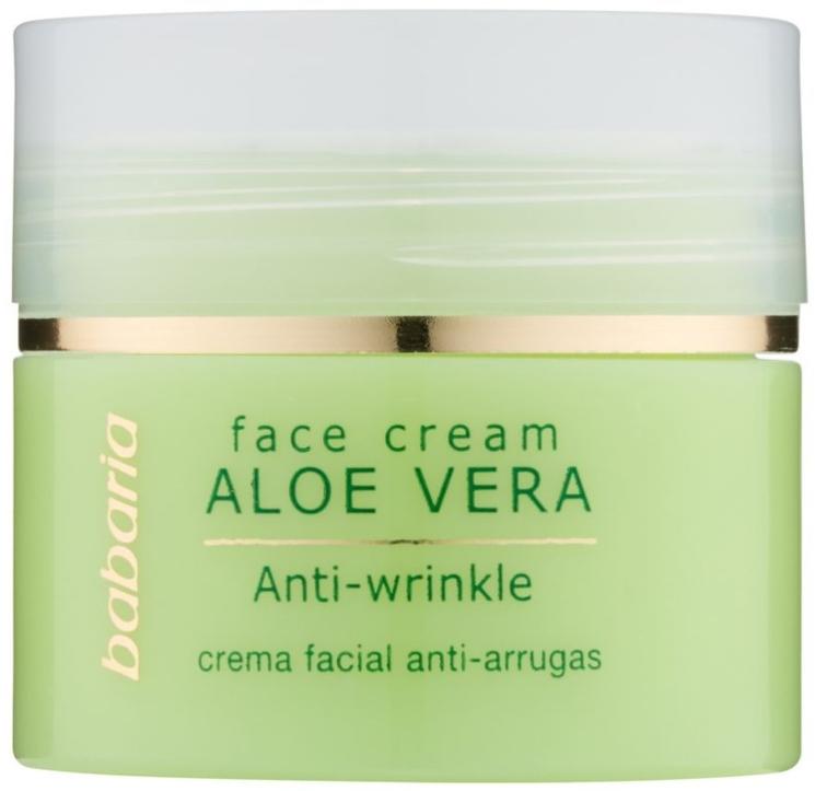 Anti-Falten Gesichtscreme mit Aloe Vera - Babaria Aloe Facial Wrinkle Cream