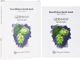 Düfte, Parfümerie und Kosmetik Tuchmaske für das Gesicht zur Regulierung der Talgproduktion Deutschland - Calluna Medica Germany Sebum Control Biocellulose Facial Mask