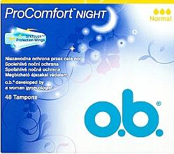 Düfte, Parfümerie und Kosmetik Tampons für die Nacht Normal 48 St. - O.b. ProComfort Night Normal