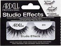 Düfte, Parfümerie und Kosmetik Künstliche Wimpern - Ardell Studio Effects 231