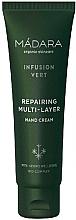 Düfte, Parfümerie und Kosmetik Regenerierende Handcreme - Madara Cosmetics Infusion Vert Repairing Multi-Layer Hand Cream