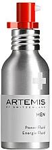 Düfte, Parfümerie und Kosmetik Feuchtigkeitsspendendes beruhigendes und enegetisierendes Gesichtsfluid für Männer SPF 15 - Artemis of Switzerland Men Power Fluid SPF 15