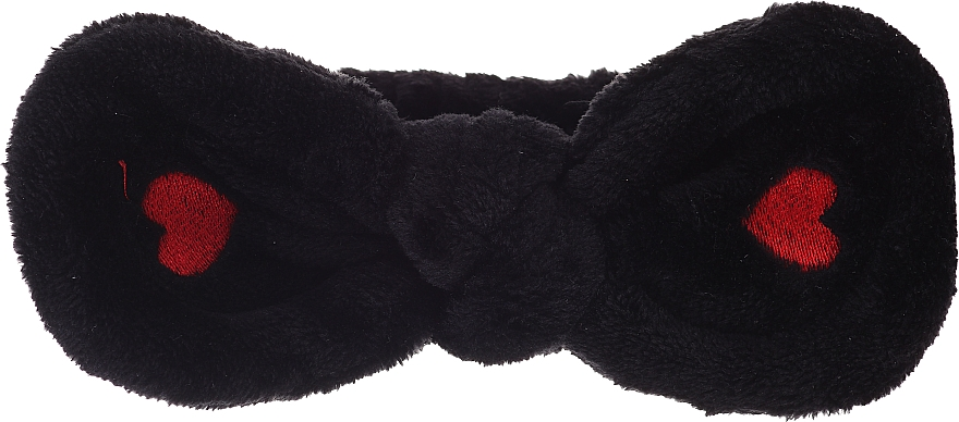 Kosmetisches Haarband, schwarz - Lash Brow Cosmetic SPA Band