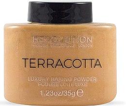 Düfte, Parfümerie und Kosmetik Gesichtspuder - Makeup Revolution Terracotta Luxury Baking Powder