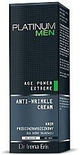Düfte, Parfümerie und Kosmetik Anti-Falten Gesichtscreme für reife Haut - Dr Irena Eris Platinum Men Age Power Extreme Anti-wrinkle Cream