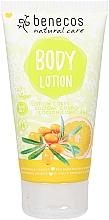 Düfte, Parfümerie und Kosmetik Körperlotion mit Sanddorn und Orange - Benecos Sea Buckthorn & Orange Natural Body Lotion