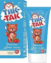 Düfte, Parfümerie und Kosmetik Kinderzahnpasta Tik-Tak mit Erdbeergeschmack - Freiheit