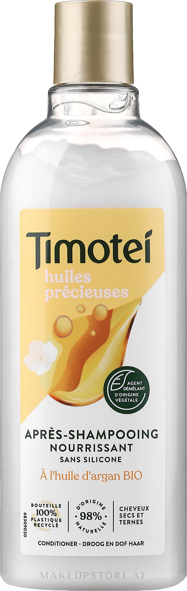 Haarspülung mit Jasminblüte, Almond- und Arganöl - Timotei Precious Oils Conditioner — Bild 300 ml