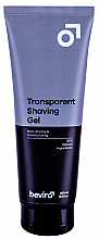 Düfte, Parfümerie und Kosmetik Rasiergel - Be-viro Men's Only Transparent Shaving Gel