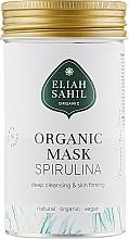 Düfte, Parfümerie und Kosmetik Bio reichhaltige tiefenreinigende und straffende Gesichtsmaske mit Spirulina und Algenextrakt - Eliah Sahil Mask