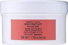 Düfte, Parfümerie und Kosmetik Anti-Cellulite Massagecreme für den Körper mit Aescin - Comfort Zone Body Strategist Massage Cream