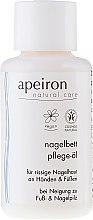 Düfte, Parfümerie und Kosmetik Pflegeöl für rissige Nagelhaut an Händen und Füßen - Apeiron Nail Bed Oil