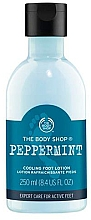 Düfte, Parfümerie und Kosmetik Fußlotion mit Pfefferminze - The Body Shop Peppermint Cooling Foot Lotion