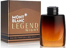 Düfte, Parfümerie und Kosmetik Montblanc Legend Night - Eau de Parfum (Mini)