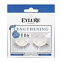Düfte, Parfümerie und Kosmetik Künstliche Wimpern №116 - Eylure Pre-Glued Lengthening