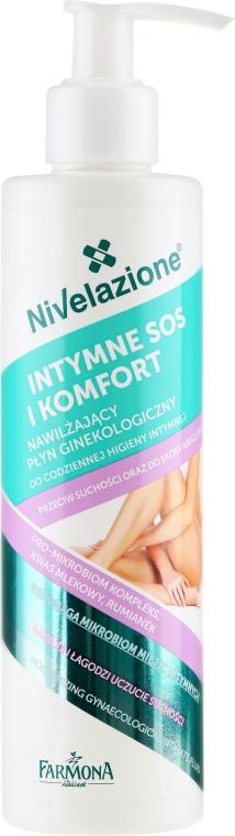 Feuchtigkeitsspendendes Fluid für die Intimhygiene - Farmona Nivelazione Moisturizing Gynaecological Intimate Fluid