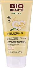Düfte, Parfümerie und Kosmetik Tonisierendes Peeling-Körpergel mit Zitronenextrakt und Pflanzenöl - Nuxe Bio Beaute Toning And Exfoliating Body Gel
