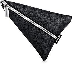 Düfte, Parfümerie und Kosmetik Maniküre-Etui Manicure Triangle schwarz (ohne Inhalt) - MakeUp 15 x 13 cm
