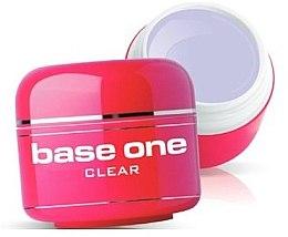 Düfte, Parfümerie und Kosmetik UV Aufbaugel transparent - Silcare Base One Clear