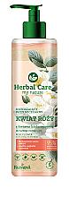 Düfte, Parfümerie und Kosmetik Feuchtigkeitsspendendes Mizellen-Reinigungswasser mit Rosenblüten und Hyaluronsäure - Farmona Herbal Care Micellar Water