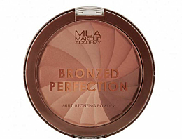 Düfte, Parfümerie und Kosmetik Bronzierpuder für das Gesicht - MUA Bronzed Perfection Multi Bronzing Powder