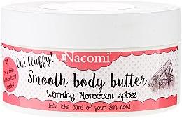 Düfte, Parfümerie und Kosmetik Körperbutter mit marokkanischen Gewürzen - Nacomi Smooth Body Butter Warming Moroccan Spices