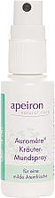 Düfte, Parfümerie und Kosmetik Kräuter-Mundspray für eine milde Atemfrische - Apeiron Auromere Herbal Mouth Spray