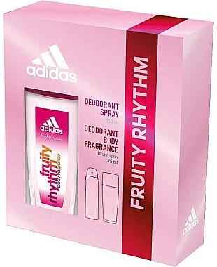 Adidas Fruity Rhythm - Duftset (Deodorant-Spray/75ml+Deodorant/150ml)