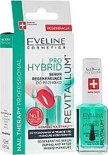 Düfte, Parfümerie und Kosmetik Regenerierendes Nagelserum für Hybrid-Lack - Eveline Cosmetics Nail Therapy Professional Revitalum Pro Hybrid