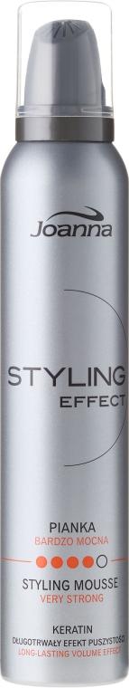 Lockendefinierende Haarmousse mit extra starkem Halt - Joanna Styling Effect Styling Mousse Strong — Bild N1