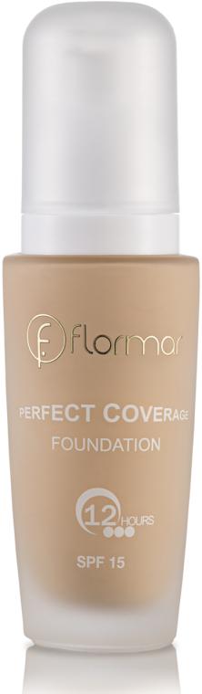 Perfekt deckende langanhaltende Foundation LSF 15 - Flormar Perfect Coverage Foundation