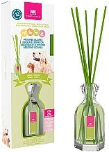 Düfte, Parfümerie und Kosmetik Aroma-Diffusor mit Duftstäbchen gegen Haustiergerüche Garten - Cristalinas Reed Diffuser