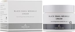 Düfte, Parfümerie und Kosmetik Pflegende Gesichtscreme mit Kollagen und Schneckenschleimextrakt - The Skin House Black Snail Wrinkle Cream