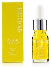 Düfte, Parfümerie und Kosmetik Festigendes Gesichtsserum mit Coenzym Q10 - APOT.CARE Pure Seurum CoQ10