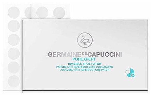 Diskrete Gesichtspatches gegen Pigmentflecken, Akne und Pickel - Germaine de Capuccini Purexpert Invisible Spot Patch
