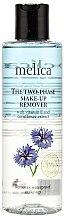 Düfte, Parfümerie und Kosmetik Melica Organic The Two Phase Make-Up Remover - Make-up Entferner mit Vitamin E und Kornblumenextrakt