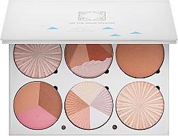Düfte, Parfümerie und Kosmetik Konturierpalette - Ofra Highlighting and Bronzing Pro Palette On the Glow